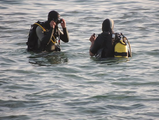 Diving Center Typhoon: Готовимся к дайву. Каспийское море