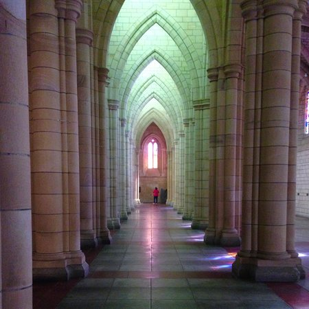 St. John's Anglican Cathedral: One of the beautiful areas of St Johns Anglican Cathedral to enthral a visitor !