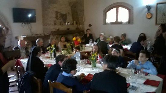 Cicerale, Italia: veduta della sala ristorante