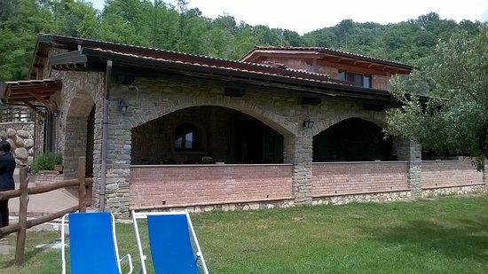 Cicerale, Italia: veduta della struttura cucina ristorante,dall'esterno