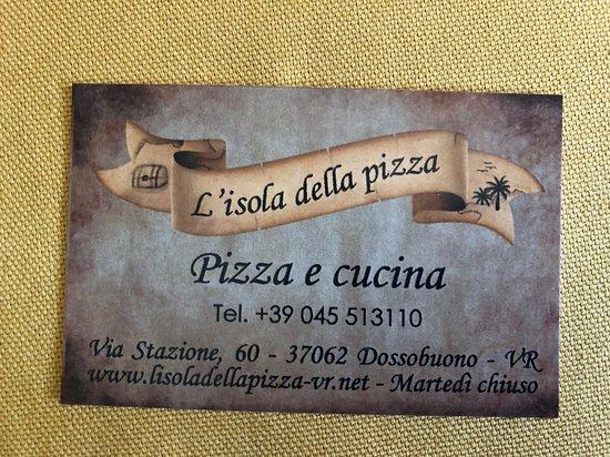 L'Isola della Pizza: contatti