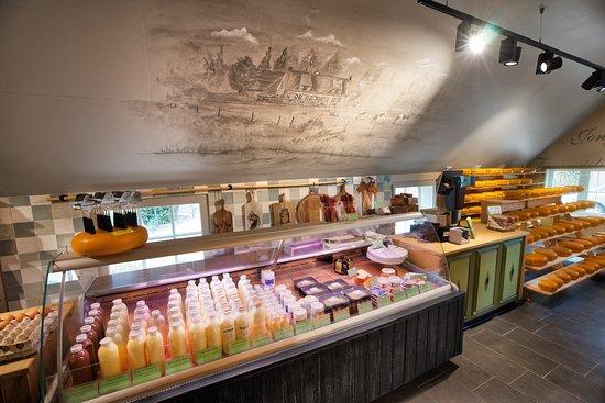 Werkhoven, Países Baixos: Diverse kaas- en zuivelproducten bij Kaasboerderij De Ossenwaard