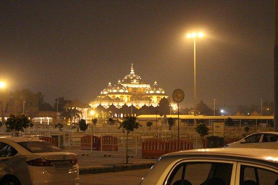 Swaminarayan Akshardham: Night View of Akshardham