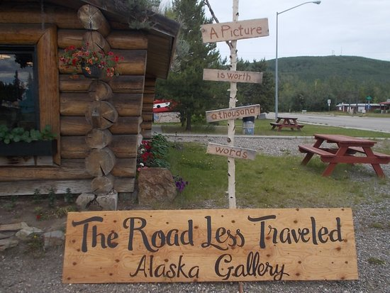 Alaskan Gallery: The Road Less Traveled Alaska Gallery has items on display in the Nenana visitor center.