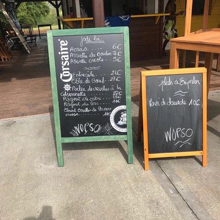 Quelques plats proposés au restaurant - Picture of Wopso