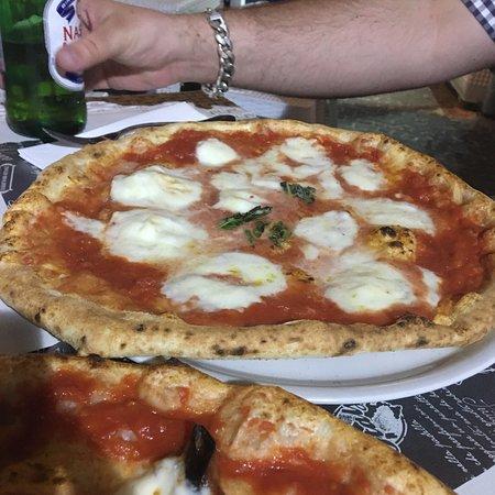 Huge pizzas