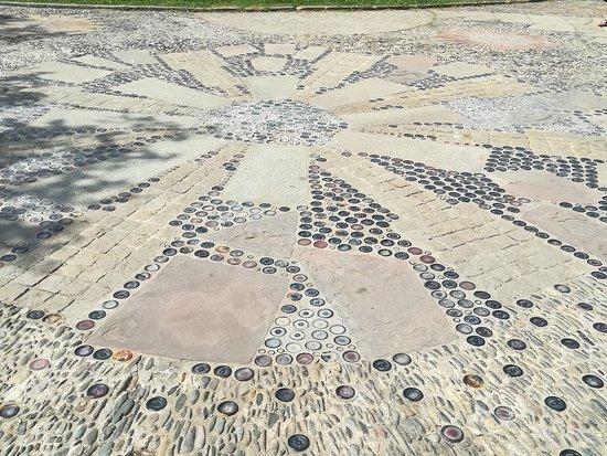 Parc de Montjuic: le sol