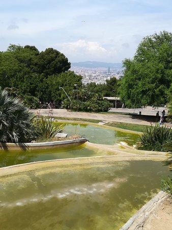 Parc de Montjuic: Fontaine