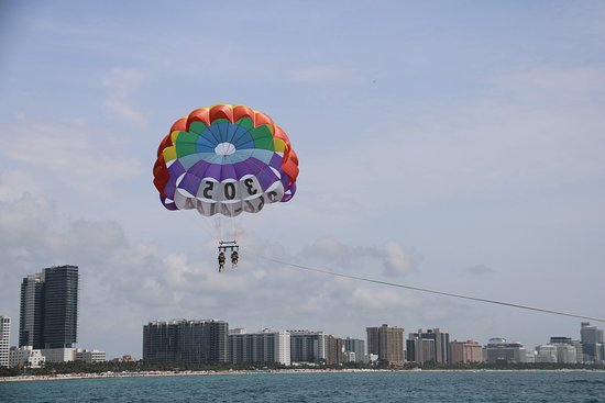 South Beach Parasail Parasailing On Miami