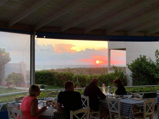 Kakovatos, Grecia: Sunset