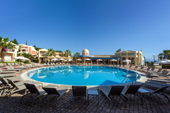 Best Hotel In Kavos 2 Minutes Off Strip Lovely Rooms Review Of Olympion Village Tripadvisor
