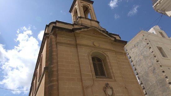 Birgu (Vittoriosa), Malta: Holy Trinity Chapel