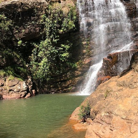 Brazlandia, DF: Cachoeira