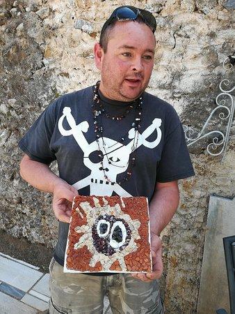 Ξυροκάμπι, Ελλάδα: Finished mosaic work.