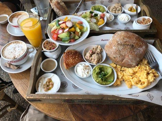 Landwer Cafe: Breakfast