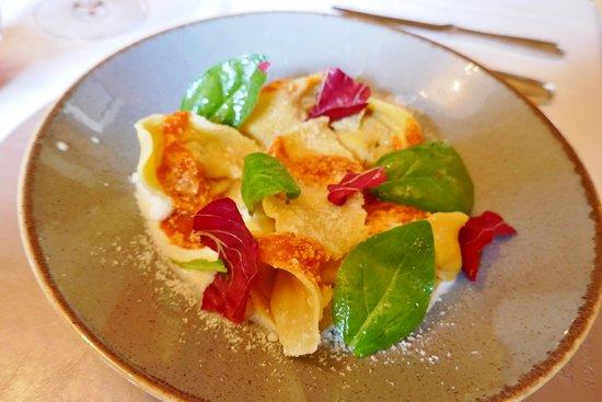 Burgusio, Włochy: Hausgemachte Pasta