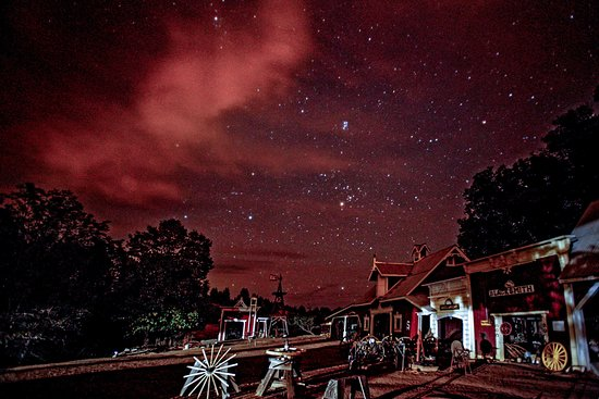 Fiddletown, CA: Nitetime at the Redf Mule Ranch