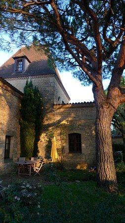 Baneuil, France: Vue de la propriété