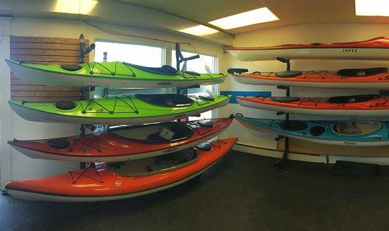 Richmond, Вермонт: Kayaks