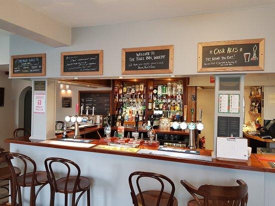 Woolpit, UK: Main Bar