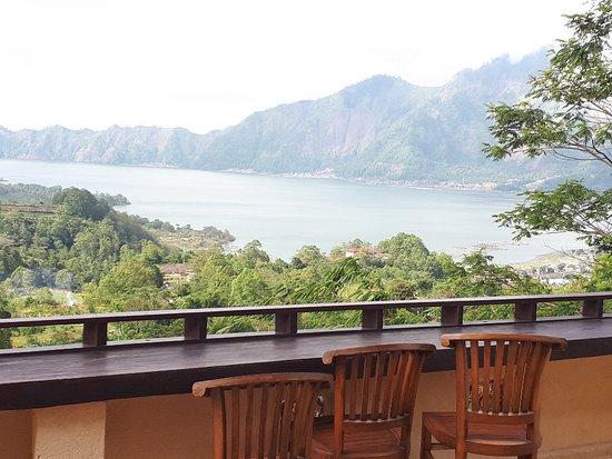 Kedisan, Indonezja: View from restaurant