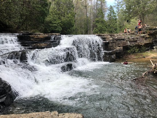 Bland, VA: Dismal Falls rocking in May 2018