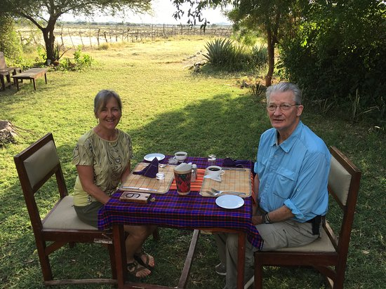 Lake Natron, Tanzania: Breakfast