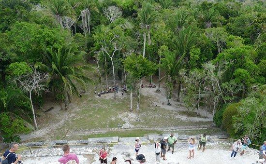 Lamanai Belize Tours: Auf dem höchsten Punkt