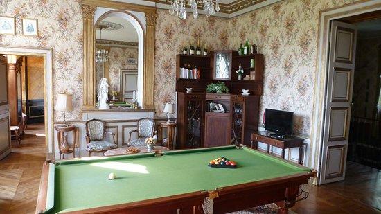 Deux-Chaises, ฝรั่งเศส: Billardtisch