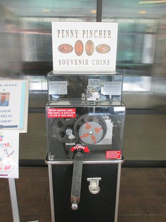 Virgil I. Gus Grissom Memorial Museum: and they even have a pressed penny machine