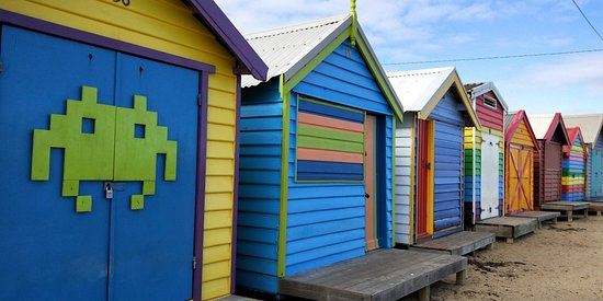 Brighton, Australia: Nice colorful for photos