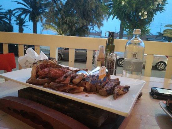 Passione Carnale: Scottona da 1 Kg sullo sondo il mare !!!