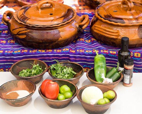 Las Cazuelas del Don : fresh ingredients