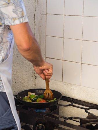 Las Cazuelas del Don : the real salsa verde