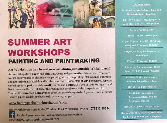 Art Courses Shropshire