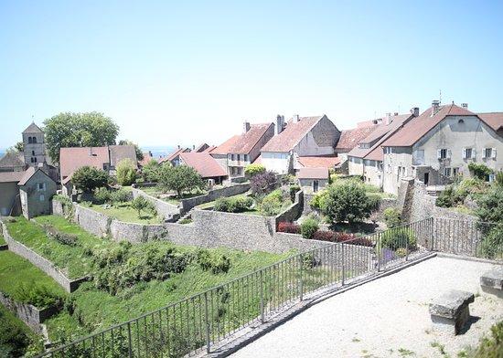 Chateau Chalon, França: Vue de château Chalon