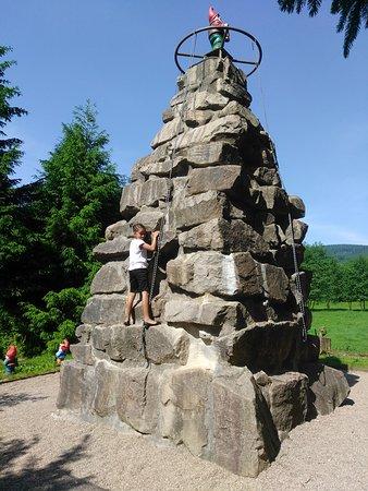 Brotterode-Trusetal, Deutschland: rock climbing
