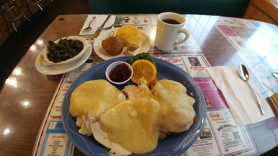 Hornell, Estado de Nueva York: Awesome roast turkey dinner!