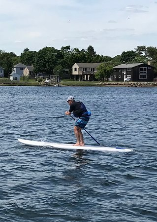 Stonington, CT: Starting out from Coastline's dock, on the cove.