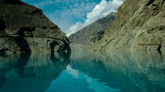 ‪‪Hunza‬, باكستان: Attabad Lake, Water Source of Hunza River‬