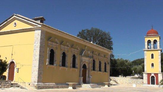 Keri Village, Grecja: Церковь Богородицы Кериотиссы в Кери...