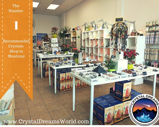 The top crystals shop in Canada - Picture of Crystal Dreams