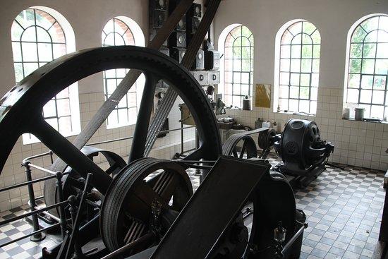 Dampfmaschine im Technikmuseeum Freudenberg