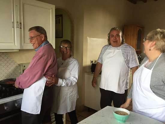 Tuscan cooking class with Fulvio at Il Vicario