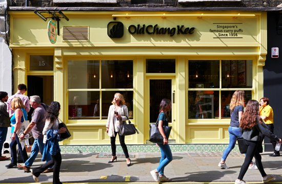 c63ff1f9 OLD CHANG KEE, London - Covent Garden - Updated 2019 Restaurant ...