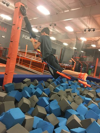 Sky Zone Trampoline Park: Made it!!!