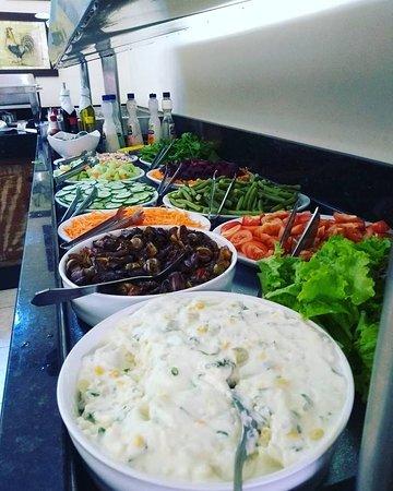 Garam Masala Gastronomia: Buffet de Saladas