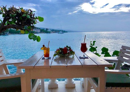 Jamaica Inn: West wing veranda view
