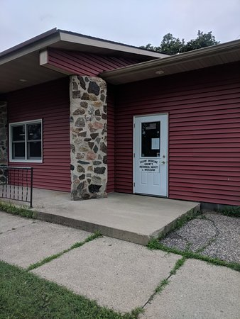 Granite Falls, MN: Yellow Medicine County Museum Entrance & interiors