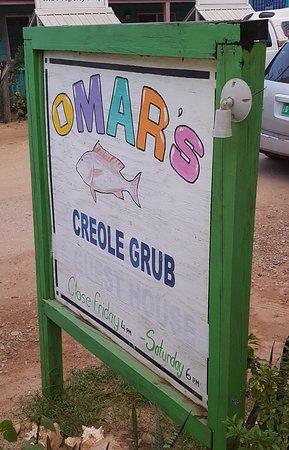 OMAR'S sign